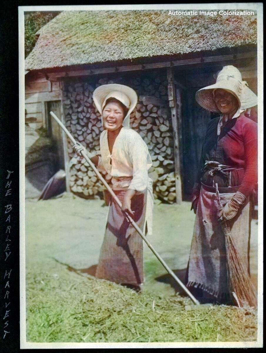 農民(1910年、Elstner Hilton氏撮影)