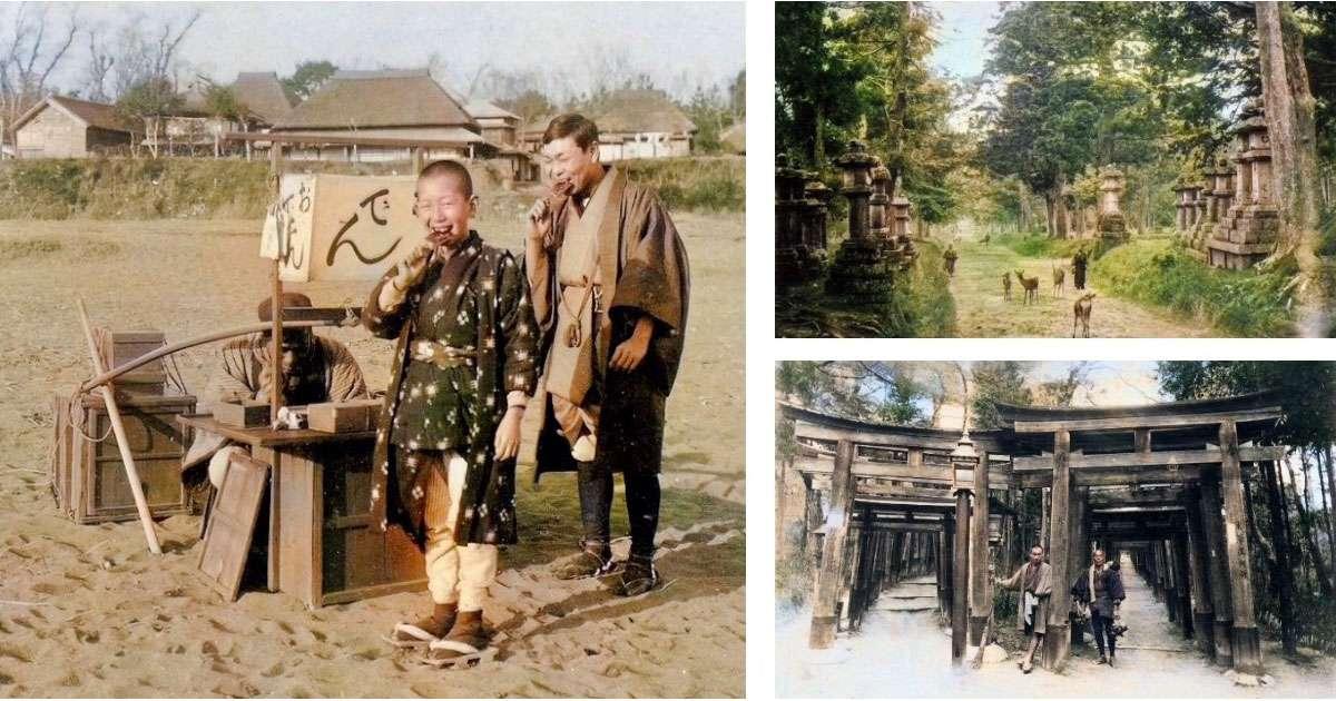 AIが着色した1900年代の日本の写真
