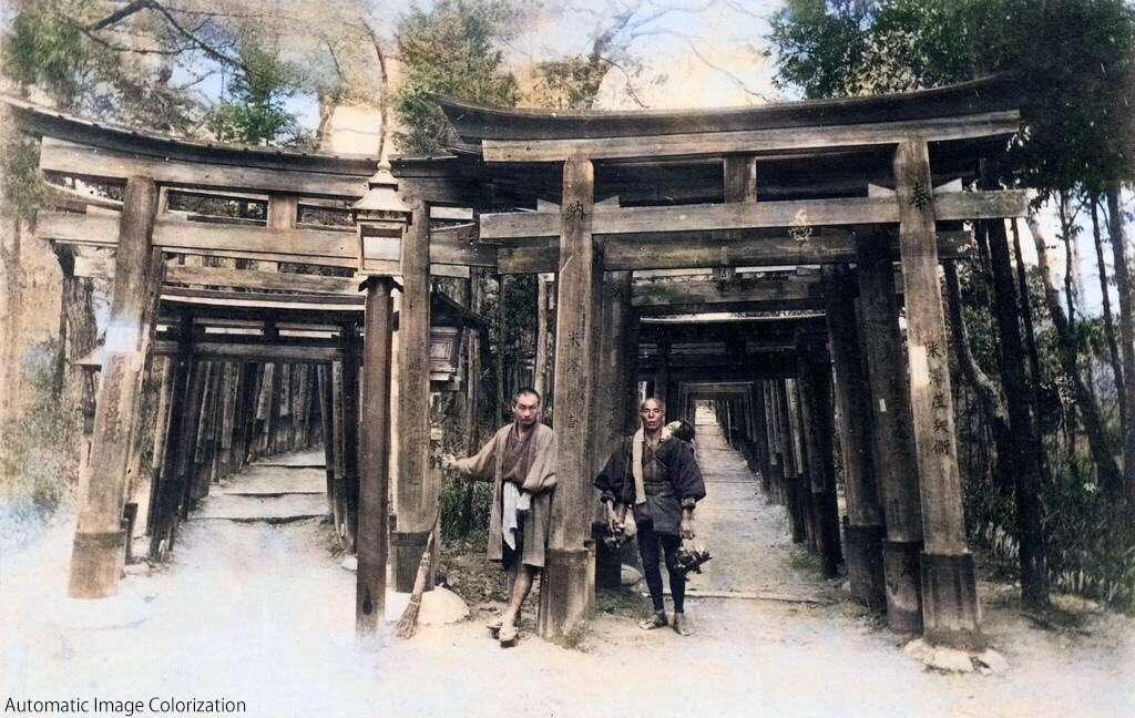 京都 伏見稲荷神社(1880年)