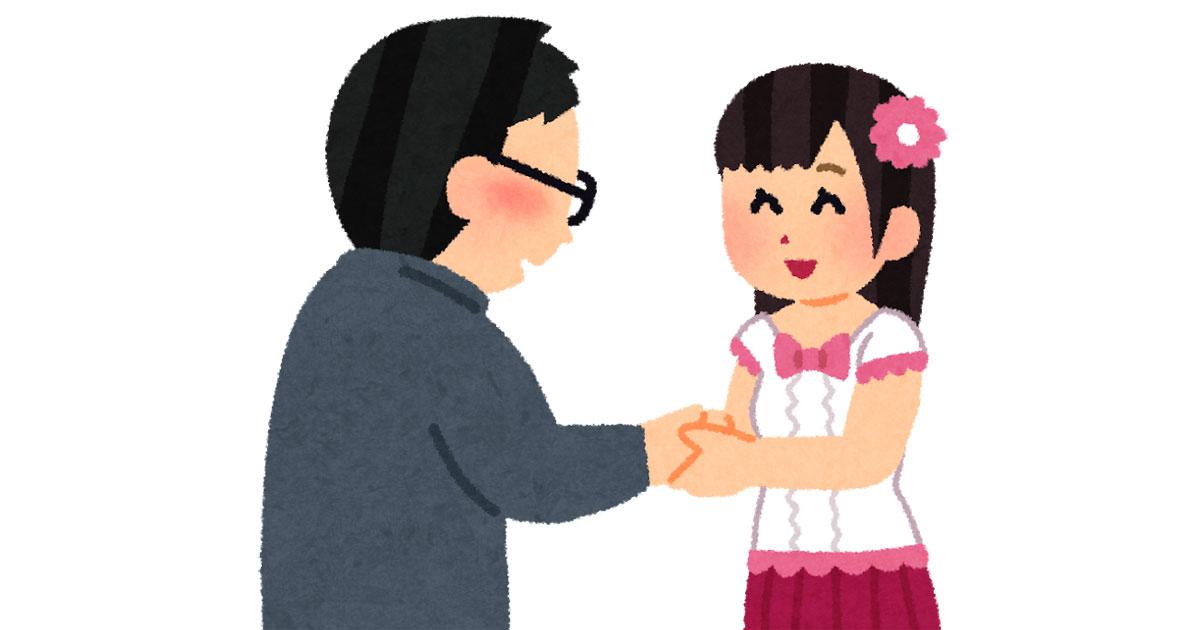 アイドルと握手会