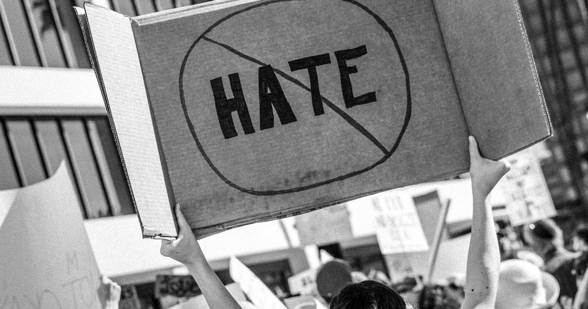 デモ、ヘイト反対