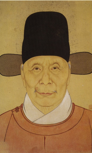 烏紗帽、劉伯淵像