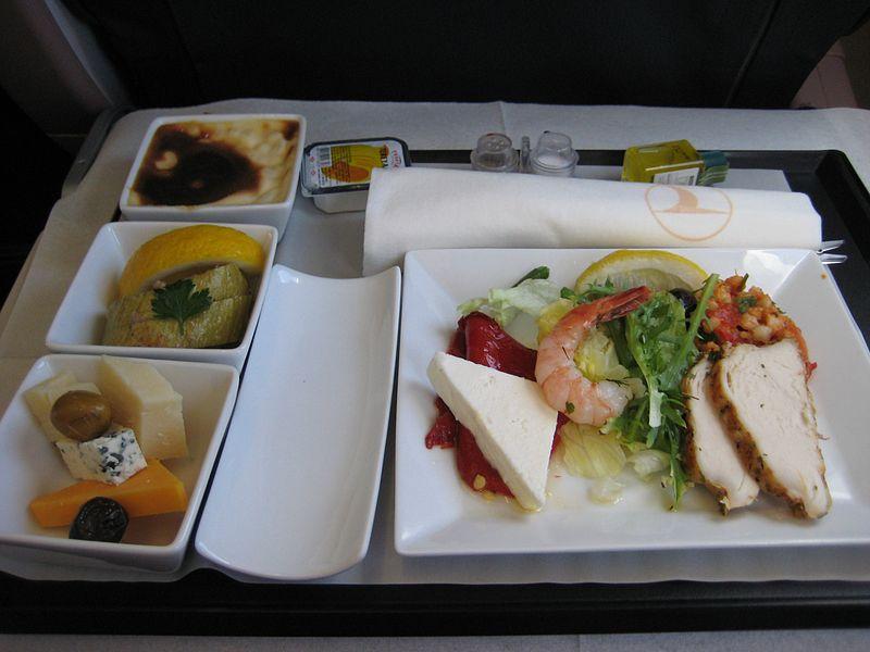 ターキッシュ・エアラインズのビジネスクラス機内食