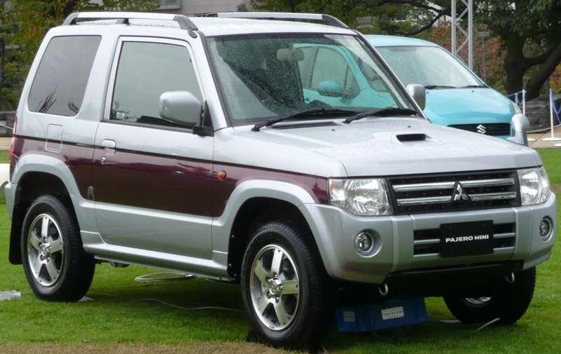 三菱パジェロミニ(Mitsubishi Pajero Mini)