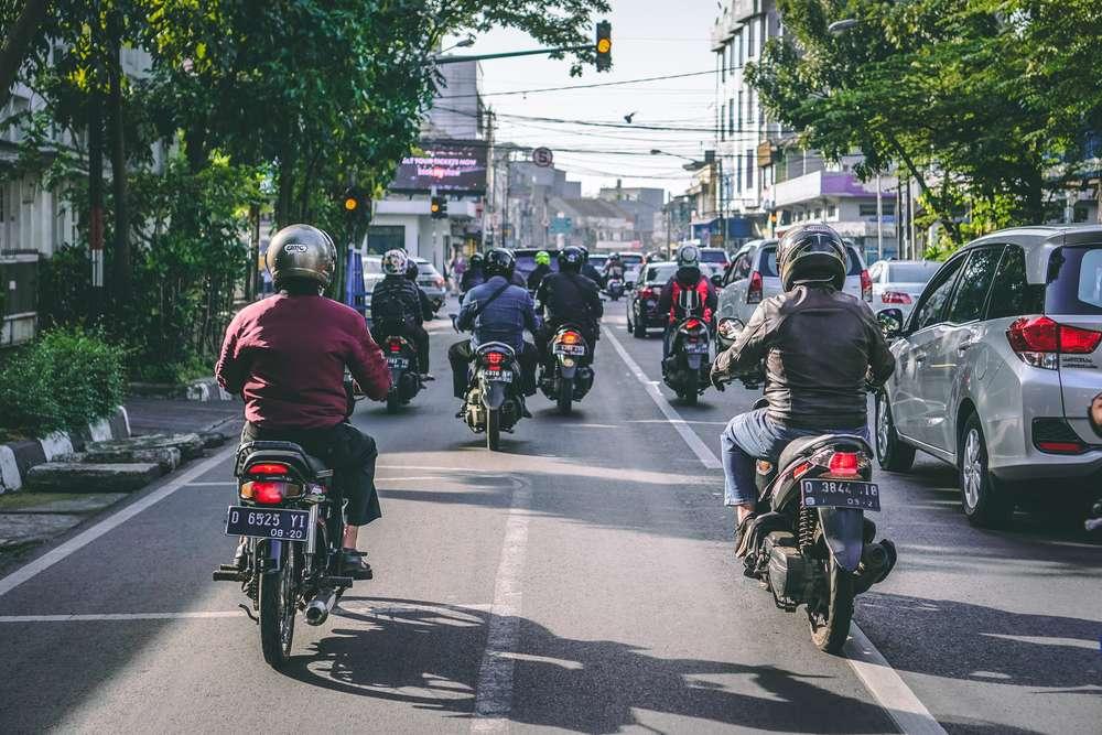 インドネシアの交通事情
