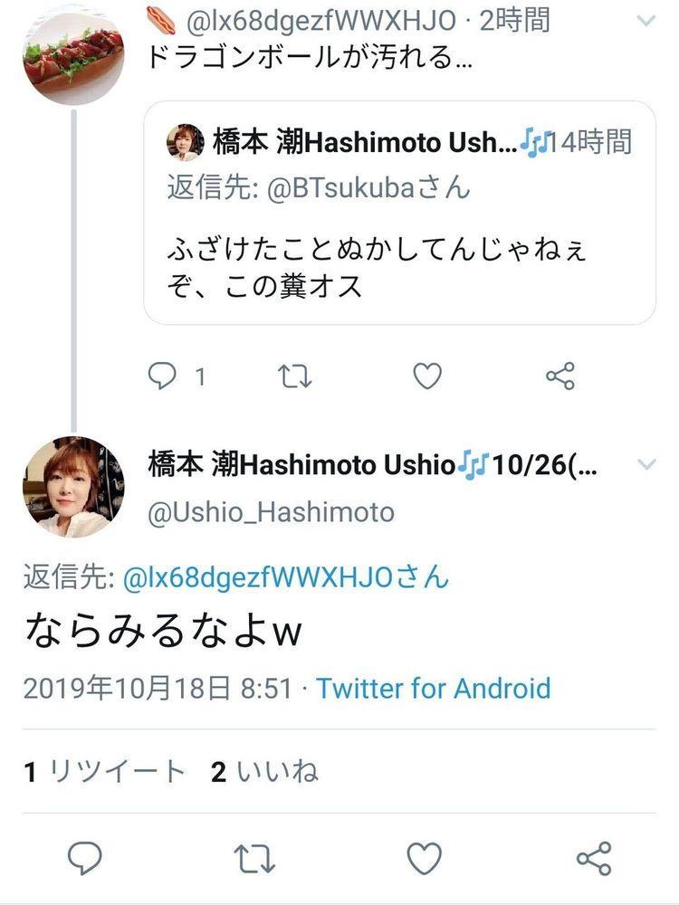 ネット民「ドラゴンボールが汚れる…」 橋本さん「なら見るなよw」