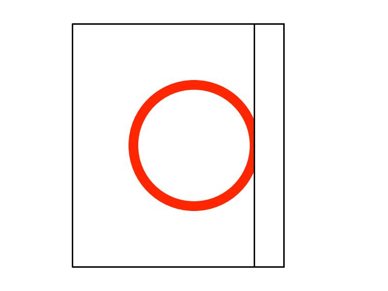 一筆書きで二重丸の描き方2