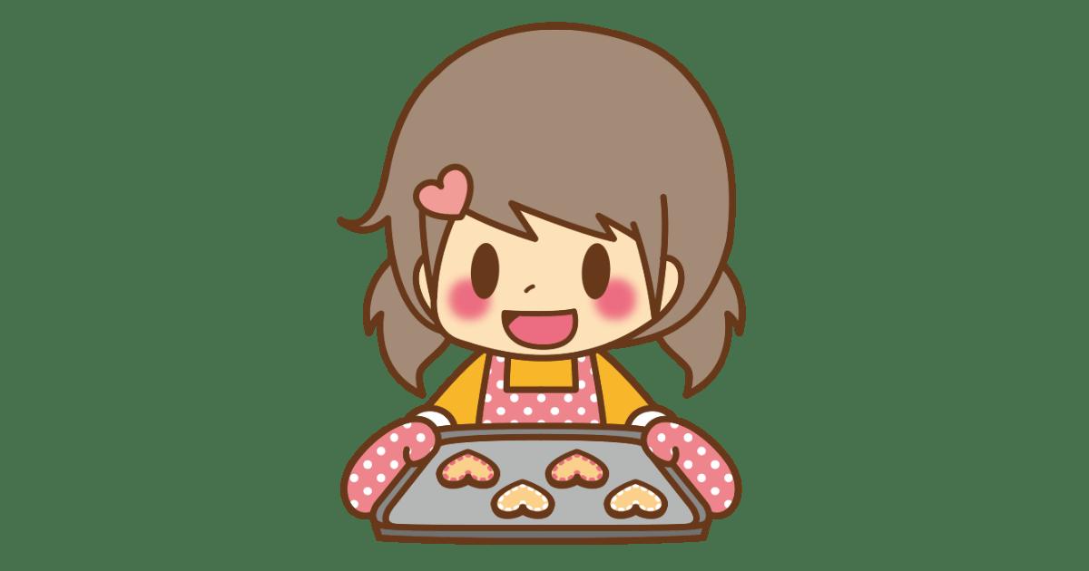 クッキーを作った女の子