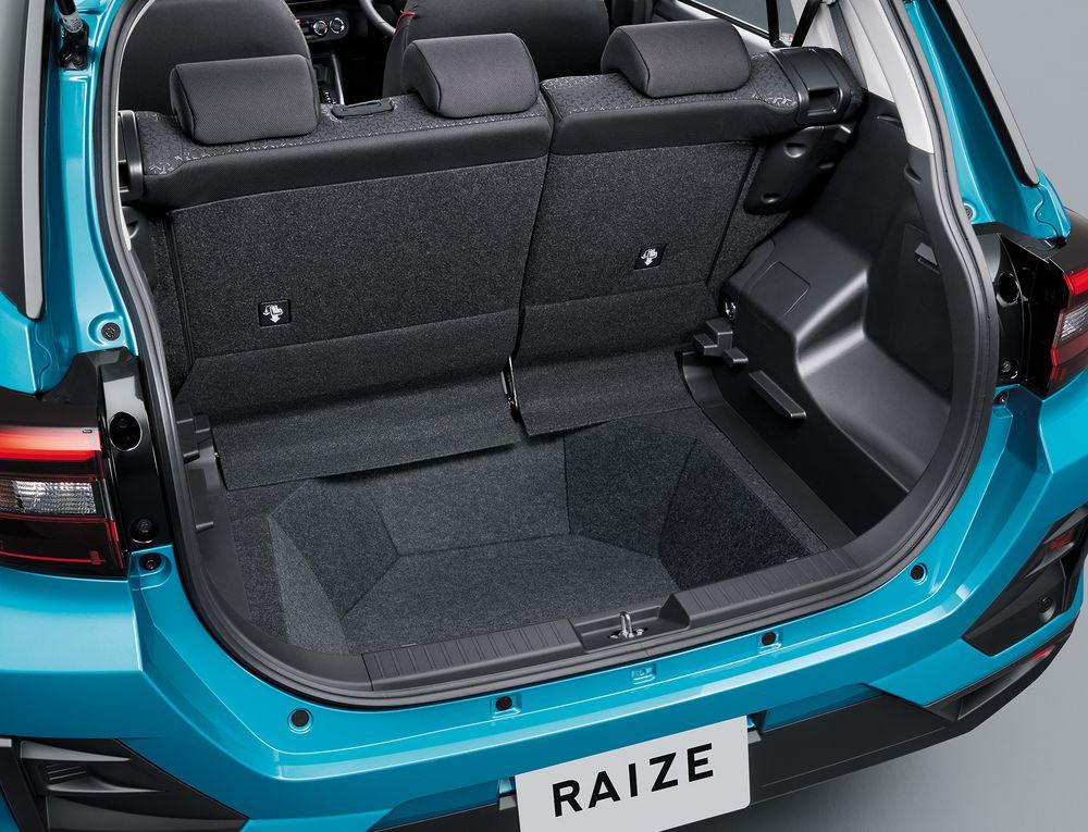 「ライズ(RAIZE)」ラゲージスペース