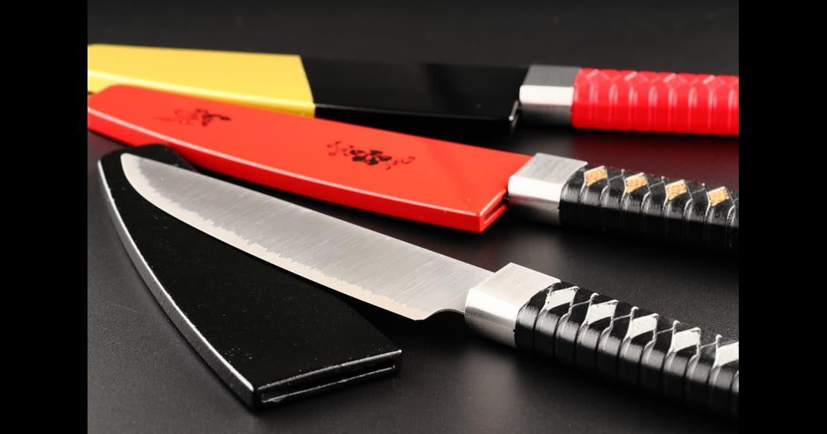 日本刀をモチーフにした名刀包丁