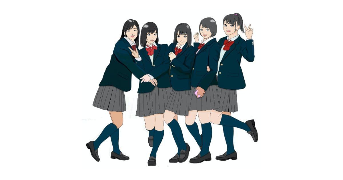 女子高生グループ