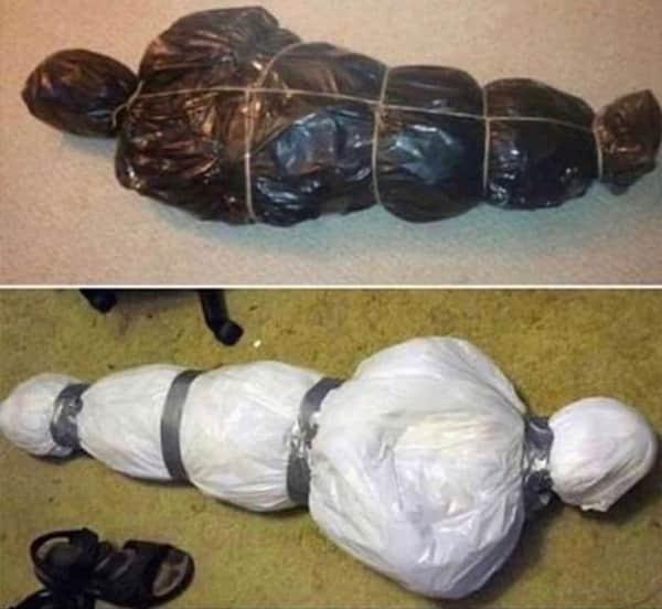 ゴミの梱包方法