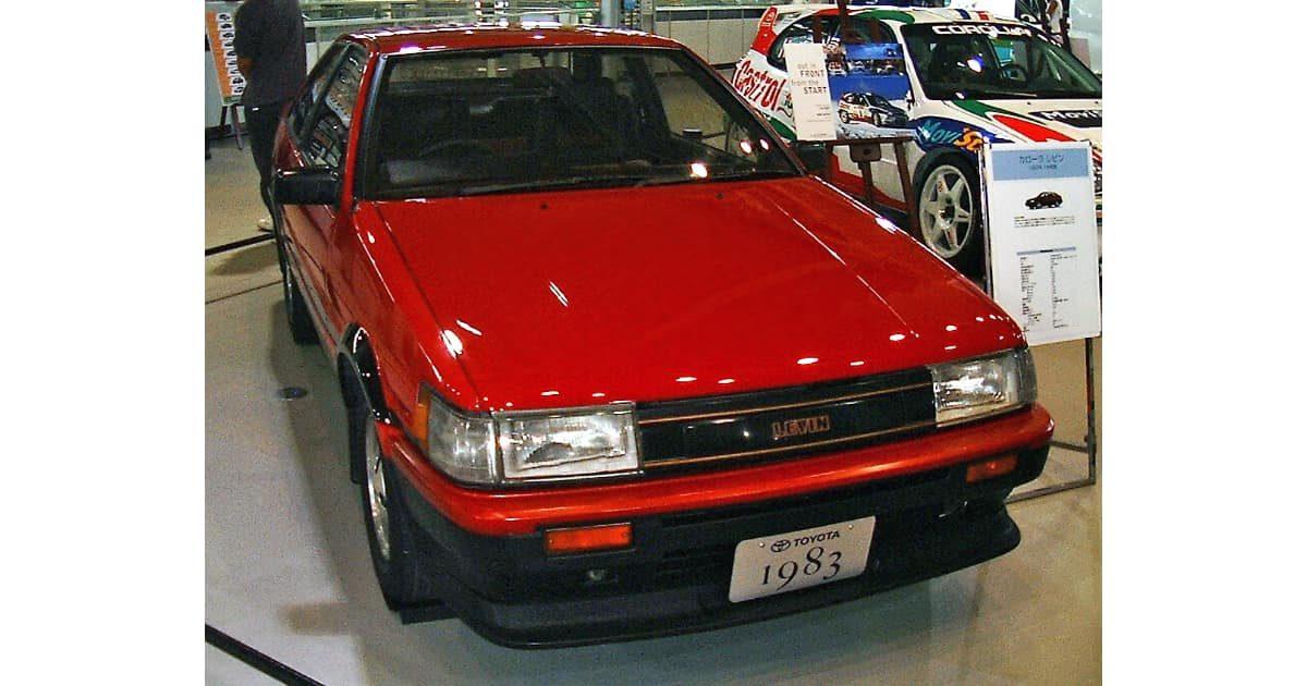 トヨタ・カローラレビン(AE86)
