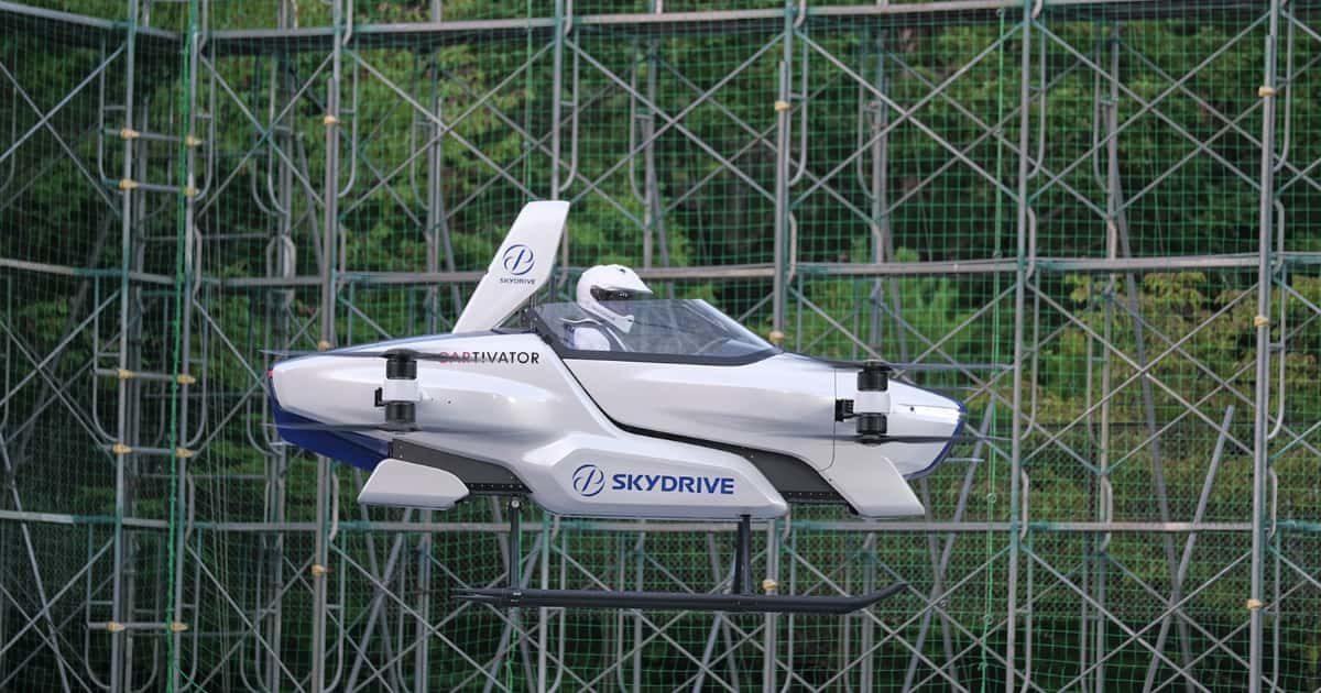 空飛ぶクルマ SkyDrive