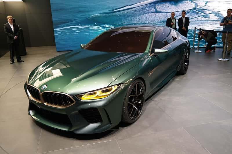 BMW M8 グランクーペ コンセプト