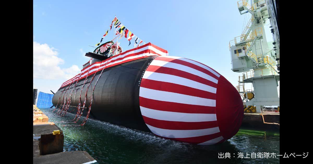 平成29年度計画潜水艦「たいげい」の命名式・進水式