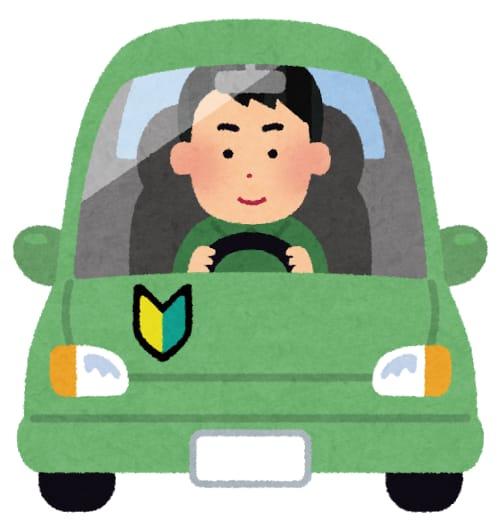 運転する人