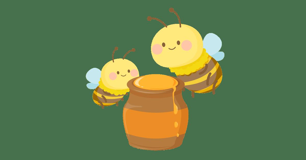蜂とハチミツ