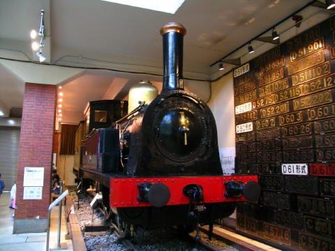 開業時に輸入されたバルカン社製1号機関車(のちの国鉄150形)