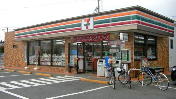 セブンイレブン外観(福島新地町店)