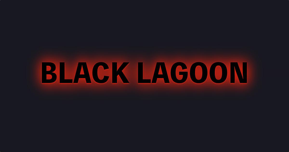 ブラックラグーン(BLACK LAGOON)ロゴ