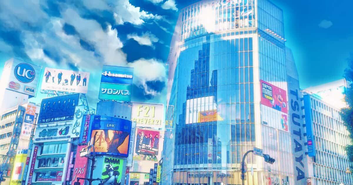 アニメ風の風景写真