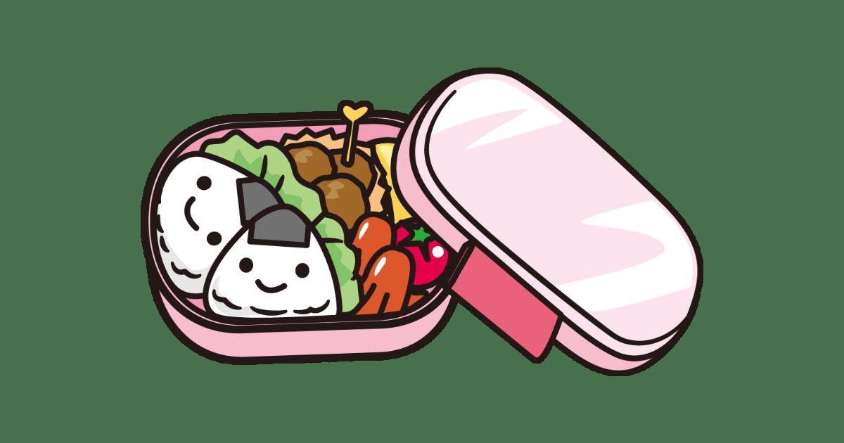可愛いお弁当箱