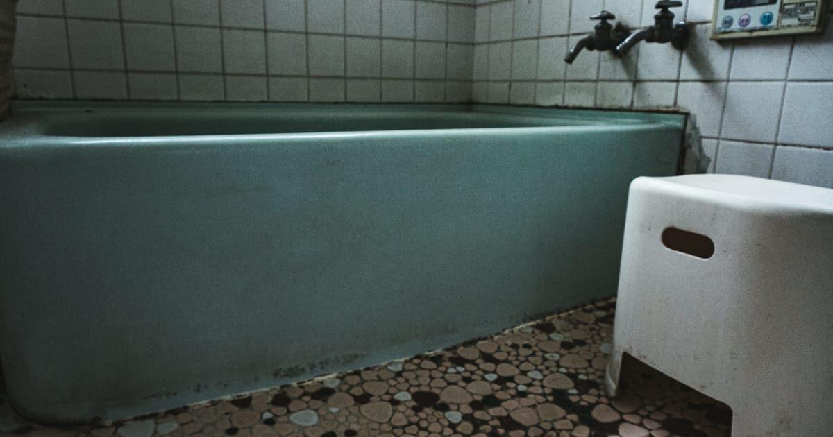 お風呂場のタイル