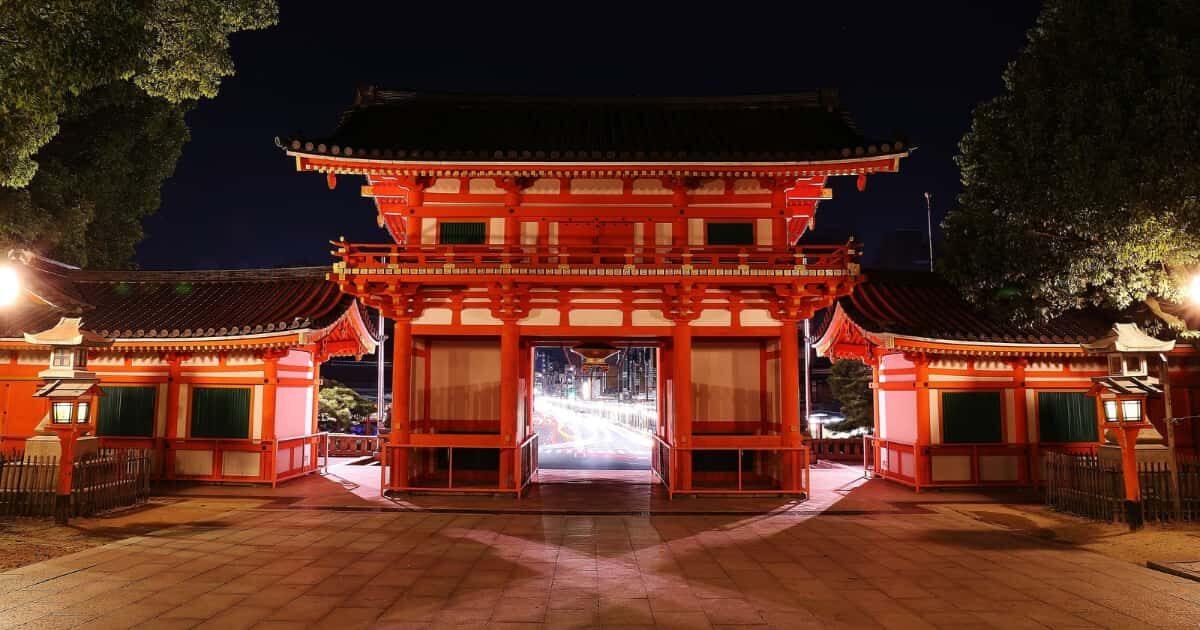 真夜中の神社