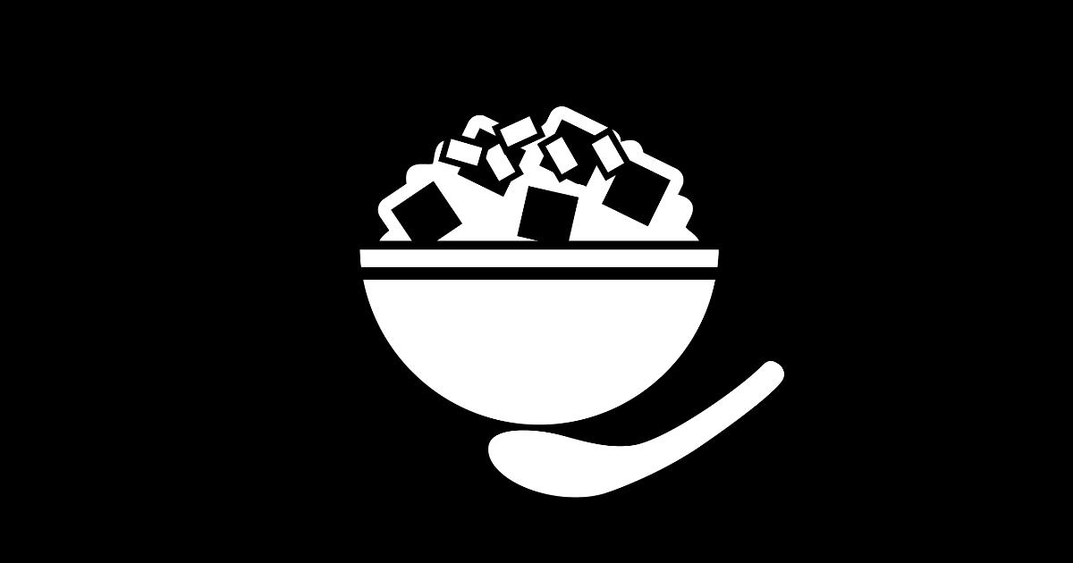 マーボー丼のピクトグラム