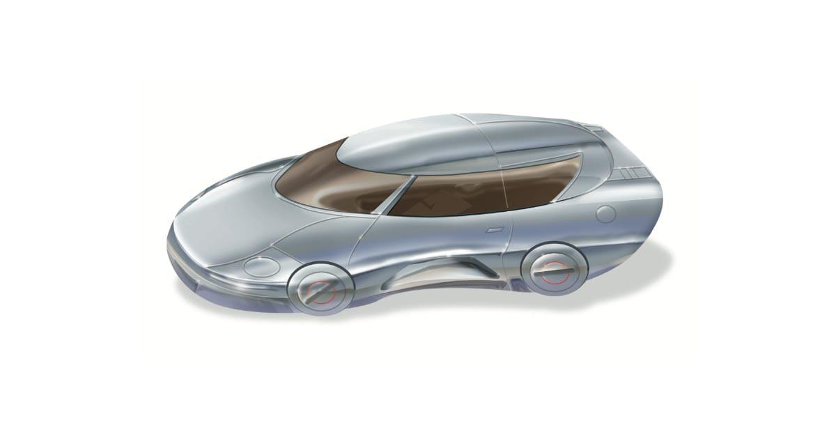 近未来感のある自動車