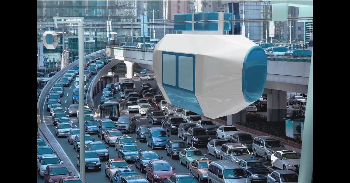 自動運転の都市型ロープウェイ「Zippar」